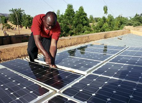 Bahamas solar panels